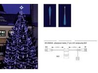 CITY SR-059849 LED rampouch efekt - SNOWFALL modrá/ modrá