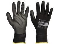 Cerva rukavice máčené BUNTING BLACK